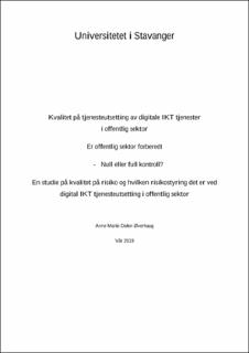 Masters thesis by marie s michaud