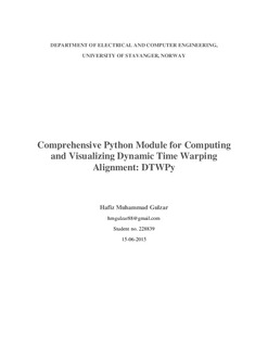 Comprehensive Python module for computing and visualizing dynamic